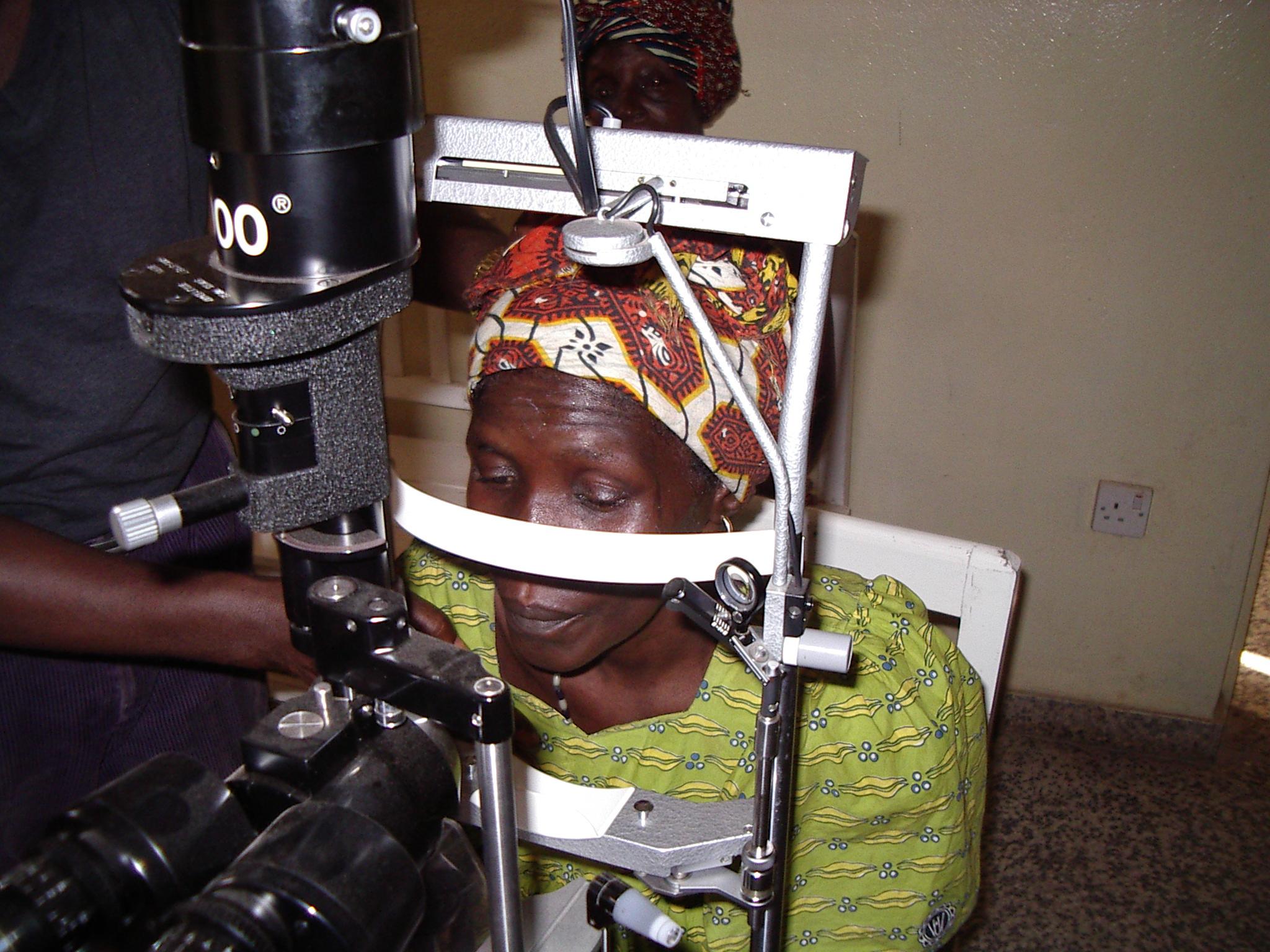 Augenklinik in Lunsar Sierra Leone